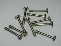 10 x M4 Pan Head Screw Slotted Length 25mm Metric Bolts Screw [P3]